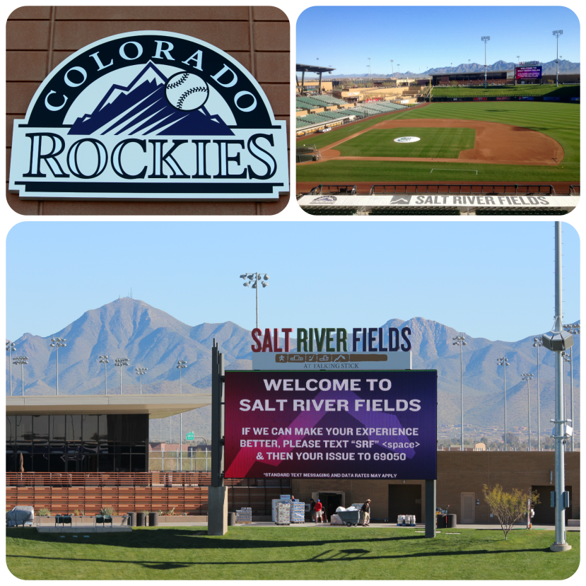 Salt River Fields - Spring Training Home of the Colorado Rockies and Arizona Diamondbacks